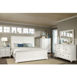 Pathways White Youth Panel Bedroom Set