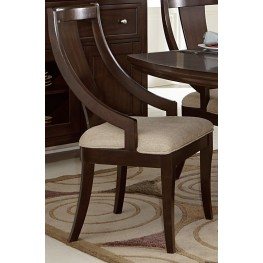Aubriella Sling Back Fabric Chair Set of 2