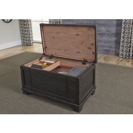 Space Saving Bedroom Trunk Storage | Coleman Furniture