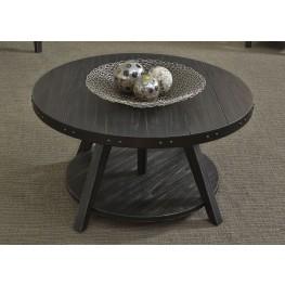 Aspen Skies Brushed Black Motion Cocktail Table