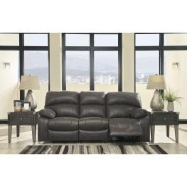 Dunwell Steel Power Reclining Sofa With Adjustable Headrest