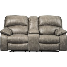 Dunwell Driftwood Power Reclining Console Loveseat with Adjustable Headrest  sc 1 st  Coleman Furniture & Dunwell Driftwood Power Reclining Console Loveseat with Adjustable ... islam-shia.org