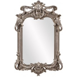 Eva Antique Silver Mirror