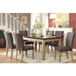 Huron Gray Dining Room Set