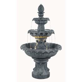 Costa Brava Zinc Outdoor Fountain