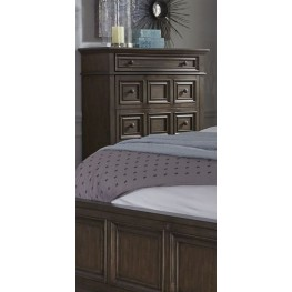 Lucca Brown 5 Drawer Chest