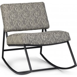Epicenters Austin Gray Franklin Rocking Chair