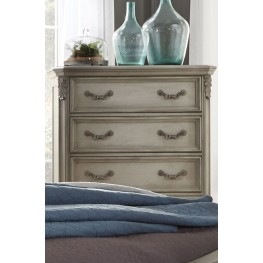 Messina Estates Gray 5 Drawer Chest