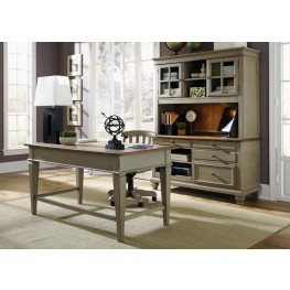 Bungalow Taupe Jr Executive Home Office Set