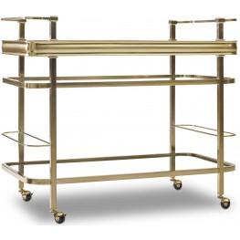 Highland Park Gold Bar Cart