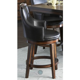 Bayshore Vinyl Counter Height Chair Set of 2