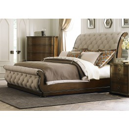 Cotswold King Upholstered Sleigh Bed