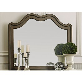 Cotswold Brown Landscape Mirror