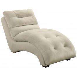 Gray Velvet Chaise