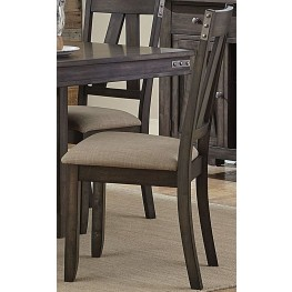 Mattawa Brown Side Chair Set of 2
