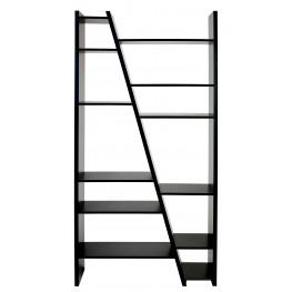 Delta Black 2 Piece Bookcase