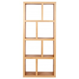 Berlin Oak 27 Inch 4 Shelf Bookcase