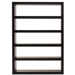 Denso Wenge 5 Shelf Bookcase