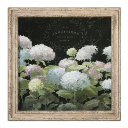 La Belle Jardiniere Crop Framed Art