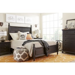 Smiling Hill Licorice Youth Panel Bedroom Set