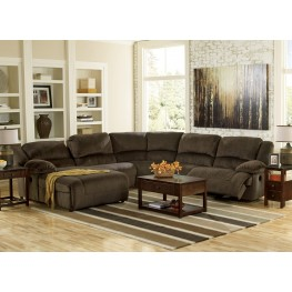 Toletta Right Arm Facing Reclining Sectional