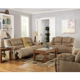 Hogan Mocha Reclining Living Room Set