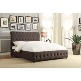 Baldwyn Fabric Full Platform Bed