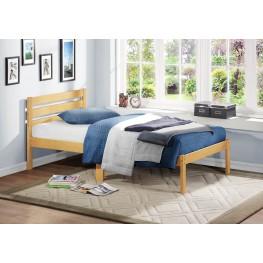 Bart Light Oak Twin Platform Bed