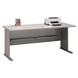 Series A Pewter 72 Inch Desk