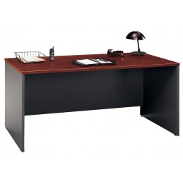 Series C Hansen Cherry 66 Inch Desk Shell
