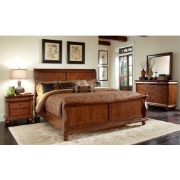 Rustic Traditions Sleigh Bedroom Set