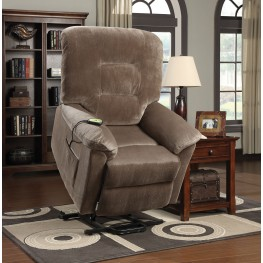 Brown Sugar Power Lift Recliner