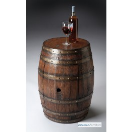 Mountain Lodge 6044120 Barrel Table
