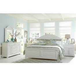 Summer House Oyster White Panel Bedroom Set