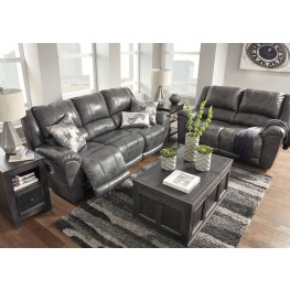 Persiphone Charcoal Reclining Living Room Set