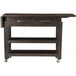 Uptown Mocha Castors Kitchen Cart