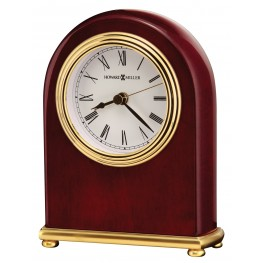 Rosewood Arch Mantle Clock