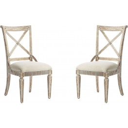 Juniper Dell English Clay Side Chair Set of 2