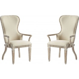Juniper Dell English Clay Host Chair Set of 2