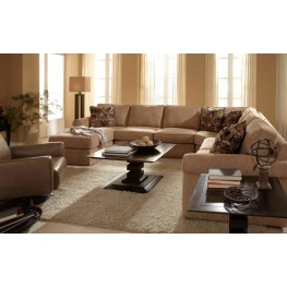 Veronica Chenille Fabric Sectional