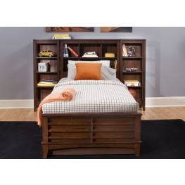 Chelsea Square Twin Bookcase Bed