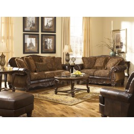 Superieur Fresco DuraBlend Antique Living Room Set