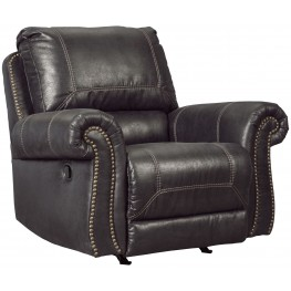 Milhaven Black Power Rocker Recliner