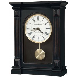 Mia Black Mantel Clock