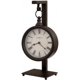 Loman Antique Black Mantel Clock