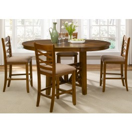 Bistro Extendable Gathering Table Set