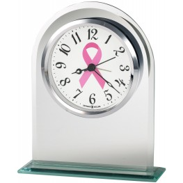 Hope Silver Table Clock