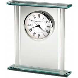 Julian White and Black Table Clock