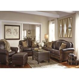 Mellwood Walnut Living Room Set ...