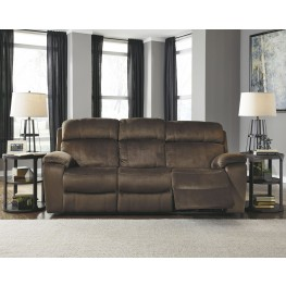 Uhland Chocolate Power Reclining Sofa